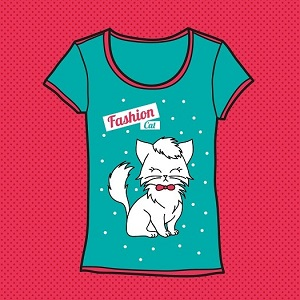 Cat T-shirts Galore!